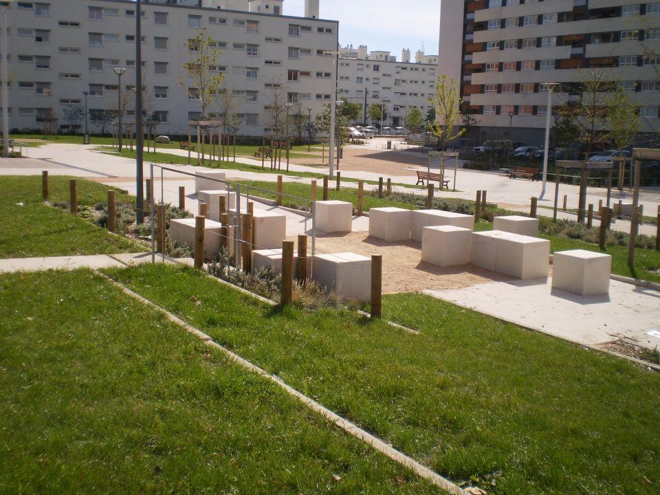R novation du quartier semailles ouest bureaux d 39 tudes d 39 ing nierie cap vert ing nierie - Bureau d etude paysage lyon ...
